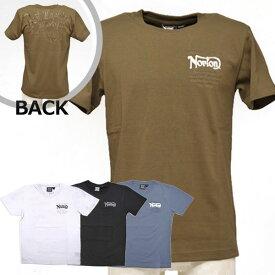 【在庫処分セール/値下げ】ノートン(Norton)ヘビーウェイトTシャツ