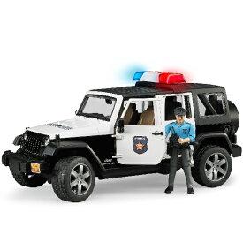 ブルーダープロ はたらくくるま Jeep パトカー(警察官フィギュア付きジープラングラールビコン/3歳から)【店頭受取も可 吹田】