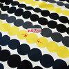 Marimekko 和 Marimekko 窗簾 RASYMATTO/黃色與黑色 10P12Oct15 斯堪的那維亞