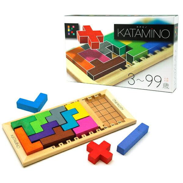 ギガミック Gigamic 木製パズルゲーム カタミノ KATAMINO(3歳から)【店頭受取対応商品】