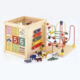 エド・インター 木のおもちゃ 森のあそび箱(1歳半から)【店頭受取も可 吹田】
