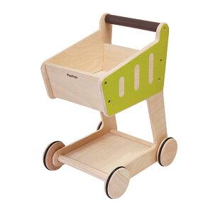 プラントイ 木製ままごと ショッピングカート(2歳から)【店頭受取も可 吹田】