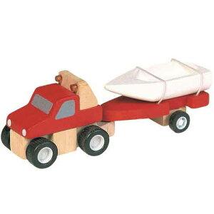 プラントイ 木のおもちゃ PlanCity 4WDとボート【店頭受取も可 吹田】