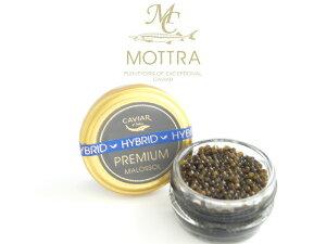 MOTTRA監修厳選プレミアム ハイブリッド キャビア 28gPremium Hybrid Caviar中国産(アムールチョウザメ×カルーガチョウザメ)malossol マロソル