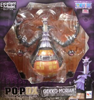 ♦ 壁虎 Moria 流行图一件新的 DX 一块 PVC 图 megahouse 日本真正,Portrait.Of.Pirates 05P07Nov15