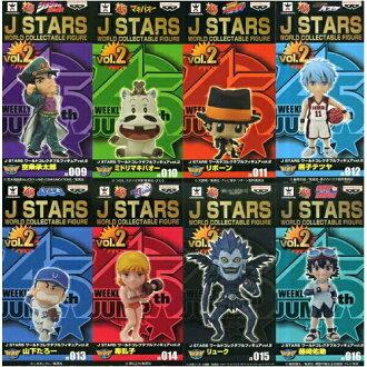 J STARS世界收藏家鬥牛犬花式滑水WCF JS vol.2全8種未開封的跳躍明星花式滑水國內正規的物品05P18Jun16