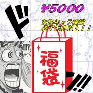 ワンピース グッズ フィギュア女性キャラ限定 福袋 5000必ず15点以上 国内正規品【代引き不可】