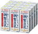 ポッカサッポロ ソヤファーム おいしさスッキリ 調製豆乳 200ml×12本入り 特定保健用食品 特保 【代引き不可】【常温…
