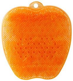 送料無料(北海道・東北・沖縄・離島以外) tone (トーン) フットブラシ TR-15 オレンジ フットケア用品 角質ケア 足裏 キレイ バスグッズ