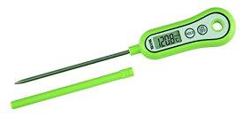 送料無料(北海道・東北・沖縄・離島以外)タニタ 温度計 料理 ピスタチオグリーン TT-533 NGR スティック温度計
