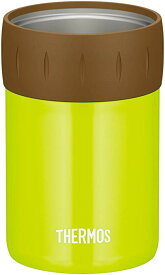 送料無料 サーモス 保冷缶ホルダー 350ml缶用 ライムグリーン JCB-352 LMG