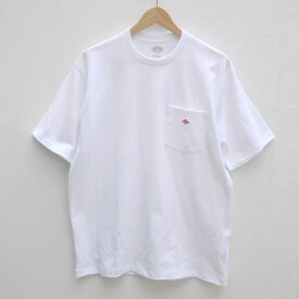 【メンズ】DANTON(ダントン)ポケット付 半袖Tシャツ 無地 JD-9041