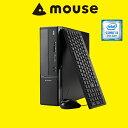 【送料無料】マウスコンピューター デスクトップパソコン 《 LM-iHS320B-MA-SD 》 【 Windows 10 Home/Core i3-7100 ...