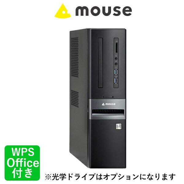 LM-iHS410SN-SH2-MA-SD デスクトップ パソコン Windows10 Home Core i5-8400 8GBメモリ 240GB SSD 1TB HDD 無線LAN マカフィー マウスコンピューター PC BTO カスタマイズ WPS Office付き 新品