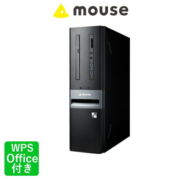 LM-iHS410SD-SH2-MA-SS Windows 10 Core i5-8400 8GB メモリ 240GB SSD 2TB HDD マカフィ— WPS Office付き マウスコンピューター デスクトップパソコン BTO カスタマイズ 新品