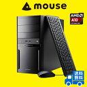 【ポイント10倍】【送料無料】マウスコンピューター デスクトップパソコン [ LM-AR353XN-SH2-MA ] 【 Windows 10 Home/AMD...