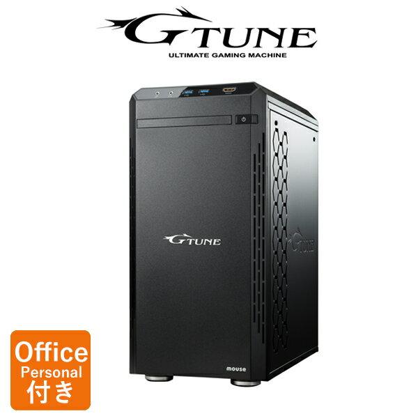 【Officeモデル★2,000円OFFクーポン対象♪】【ポイント10倍♪〜1/21 15時まで】NG-im610SA1-SP-MA-AP ゲーミングPC ゲーム用 デスクトップ パソコン Core i7 8700 16GB 240GB SSD メモリ 2TB HDD GeForce GTX 1060 マカフィー PC BTO Office付き 新品