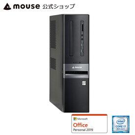 【エントリーでポイント7倍♪】【ポイント10倍♪】LM-iHS410XD-SH-MA-AP デスクトップ パソコン Core i7-8700 8GB メモリ 120GB SSD 1TB HDD Microsoft Office付き mouse マウスコンピューター PC BTO 新品