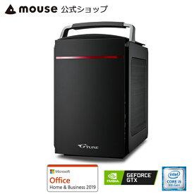 【エントリーでポイント7倍♪7/26 2時まで】【ポイント10倍♪】LG-i330SA1-SH2-MA-AB ゲーミングPC デスクトップ パソコン Core i5-9400 8GBメモリ 240GB SSD 1TB HDD GeForce GTX 1660 Microsoft Office付き mouse マウスコンピューター PC BTO 新品