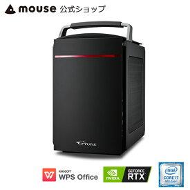 【7/4 20:00〜エントリーでポイント7倍】G-Tune EL-B-2060Super ゲーミングPC eスポーツ デスクトップ パソコン Windows10 Core i7-9700 16GB メモリ 256GB M.2 SSD(NVMe) 1TB HDD GeForce RTX2060 Super WPS Office付き mouse マウスコンピューター PC BTO 新品