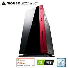 【エントリーでポイント7倍♪7/26 2時まで】MP-i1640SA1-M2SH2-MA-AB ゲーミングPC デスクトップ パソコン Core i7-9700K 16GB メモリ 256GB M.2 SSD NVMe対応 2TB HDD GeForce RTX 2060 DVDドライブ Microsft Office付き mouse マウスコンピューター PC BTO 新品