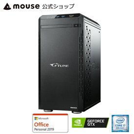 【エントリーでポイント7倍♪】【ポイント10倍♪】NG-im610SA1-SP-MA-AP ゲーミングPC ゲーム用 デスクトップ パソコン Core i7-8700 16GB メモリ 240GB SSD 2TB HDD GeForce GTX 1060 Microsoft Office付き mouse マウスコンピューター PC BTO 新品