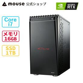 G-Tune XN-Z-CM-MA ゲーミングPC デスクトップ パソコン Core i7-10700K 16GB メモリ 1TB M.2 SSD GeForce RTX3080 mouse マウスコンピューター PC BTO 新品