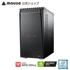 G-Tune PN-Z-1660 ゲーミングPC eスポーツ デスクトップ パソコン Core i7-9700 16GB メモリ 256GB M.2 SSD(NVMe) 1TB HDD GeForce GTX 1660 SUPER WPS Office付き mouse マウスコンピューター PC BTO 新品