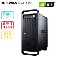 G-TuneHN-Z-MA-APゲーミングPCデスクトップパソコンCorei7-10900K16GBメモリ512GBM.2SSD2TBHDDGeForceRTX3070Office付き新品mouseマウスコンピューターPCBTO