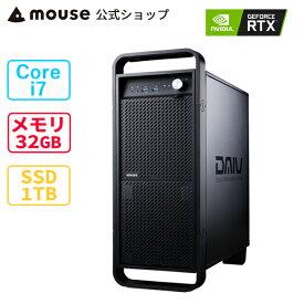 【マラソン期間中★7%OFFクーポン対象】DAIV Z7-CM-MA クリエイティブ Core i7 32GB メモリ 1TB M.2 SSD GeForce RTX3060 新品 mouse マウスコンピューター PC BTO ※4月28日より後継モデルへ変更