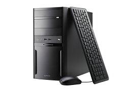 【送料無料】マウスコンピューターデスクトップパソコン《LM-iH440EN-MA-NL》【Windows10Home/CeleronG3930/4GBメモリ/500GBHDD/WPSOffice付き】《新品》