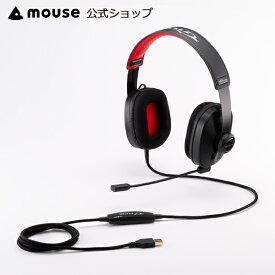 【エントリーでポイント7倍】G-Tune GAMING HEADSET【有線/7.1ch】G-Tuneオリジナル シミュレーテッド7.1 ゲーミングヘッドセット (USB接続 / フレキシブルで快適な装着を実現) 送料無料 マウスコンピューター ゲーム