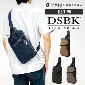 【公式】DOUBLES BLACK ダブルスブラック ボディバッグ スリングパック ウエストポーチ メンズ バッグ ウエストバッグ ウエスト ポーチ レディース おしゃれ ワンショルダー 軽量 通勤 通学 か