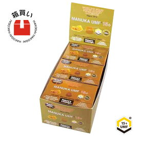 マヌカハニー キャンディ UMF15 プラス 6個入り 12ケース 箱買い はちみつ 蜂蜜 のど飴 ハニードロップレット マヌカキャンディー