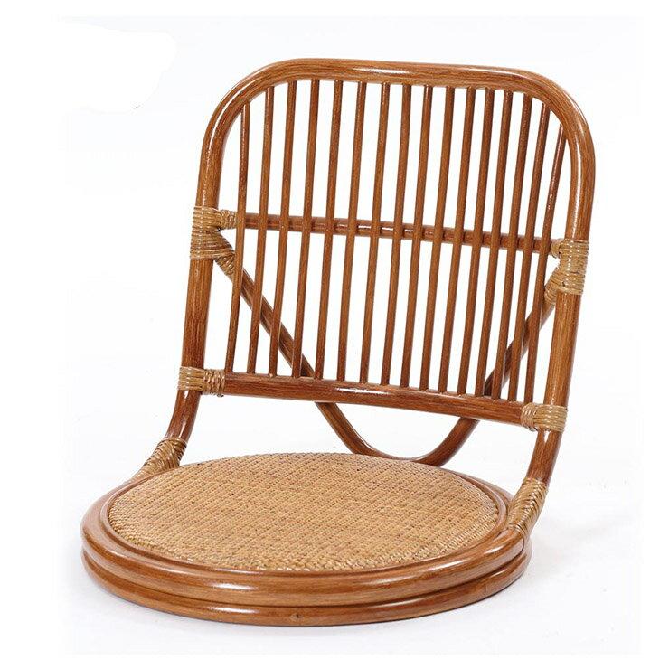 サンフラワーラタン ラタンやわらか座椅子 C09HR ブラウン W48×D56×H49【座椅子 籐 ラタン】[アジアンテイスト]【代引き不可】