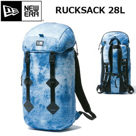 バックパック バッグ アパレル カジュアル ユニセックス ニューエラ NEW ERA Rucksack ラックサック 28L タイダイデニム あす楽