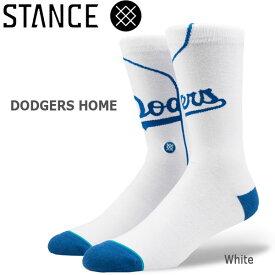 野球メジャーリーグ コラボ メンズ ソックス スタンス STANCE DODGERS HOME 靴下 ベースボール スポーツ オシャレ stc-fair メール便配送 【50SP】