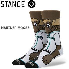 野球メジャーリーグ コラボ メンズ ソックス スタンス STANCE MARINER MOOSE 靴下 ベースボール スポーツ オシャレ stc-fair メール便配送 【50SP】