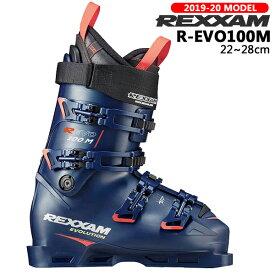 【2000円引きクーポン 期間限定】/スキー ブーツ 靴 19-20 REXXAM レグザム R-EVO100M レボ オートフィット コンペ ハイエンド