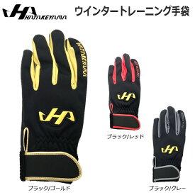 野球 手袋 トレーニング 一般 メンズ ハタケヤマ HATAKEYAMA ウインタートレーニング手袋 スマホ対応