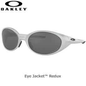 オークリー 偏光 サングラス アイジャケット リダックス スポーツ OAKLEY EYEJACKET REDUX フレーム Silver レンズ Prizm Black Polarized oky-sun