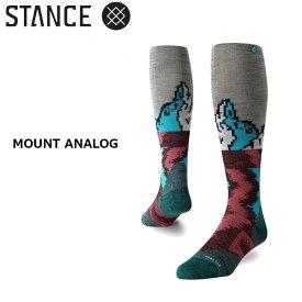 スタンス スノーボードソックス STANCE MOUNT ANALOG メール便配送