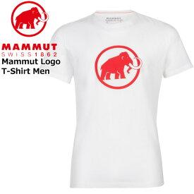 マムート マムートロゴTシャツ カラー:00257/bright white PRT1 MAMMUT Mammut Logo T-Shirt Men bright white PRT1 MAMMUT_2020SS メール便配送