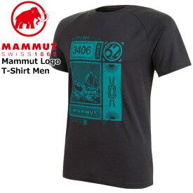 マムート マムートTシャツ カラー:00150/phantom MAMMUT Mountain T-Shirt Men phantom MAMMUT_2020SS メール便配送