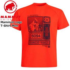 マムート マムートTシャツ カラー:3445/spicy MAMMUT Mountain T-Shirt Men spicy MAMMUT_2020SS メール便配送