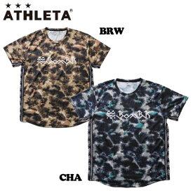 アスレタ Tシャツ ATHLETA グラフィック メッシュプラクティスシャツ プラシャツ Tee BOMBR サッカー フットサル ウェア ath-20ss メール便配送