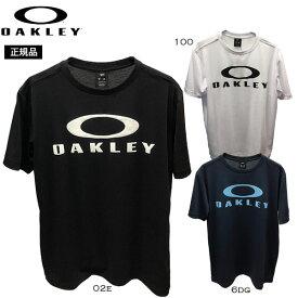 オークリー Tシャツ OAKLEY Enhance QD SS Tee O Bark 10.0 吸汗速乾 Tee スポーツウェア トレーニングウェア メール便配送 oky-wea 【50SP】