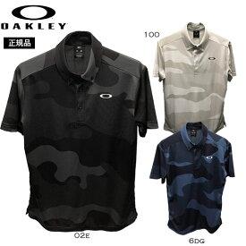 オークリー ゴルフ 半袖ポロシャツ OAKLEY Enhance SS Polo Jacquard シャツ トレーニングウェア メール便配送 oky-glf oky-wea