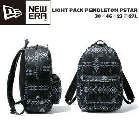 バックパック ニューエラ NEW ERA LIGHT PACK PENDLETON PSTAR 30×46×23 約27L ペンドルトン リュックサック ペンドルトン/ブラック あす楽
