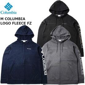 【ストアポイントアップデー】/コロンビア Columbia メンズコロンビアロゴフリースクルー Columbia Men Columbia Logo Fleece FZ Col_2020FW